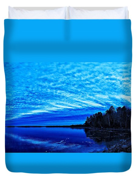 Meddybemps Blues 3 Duvet Cover by Bill Caldwell -        ABeautifulSky Photography