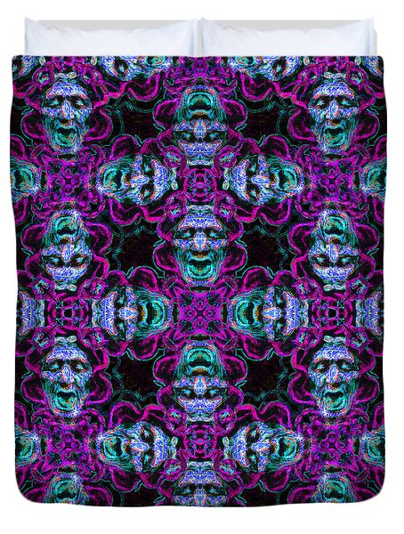 Medusa Abstract 20130131m180 Duvet Cover by Wingsdomain Art and Photography