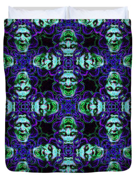 Medusa Abstract 20130131p138 Duvet Cover by Wingsdomain Art and Photography