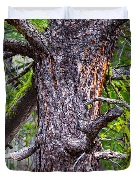 Medusa Tree Duvet Cover by Omaste Witkowski