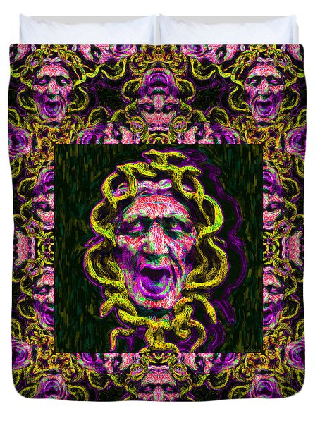 Medusa's Window 20130131m138 Duvet Cover by Wingsdomain Art and Photography