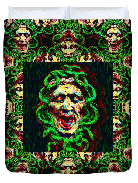 Medusa's Window 20130131p0 Duvet Cover by Wingsdomain Art and Photography