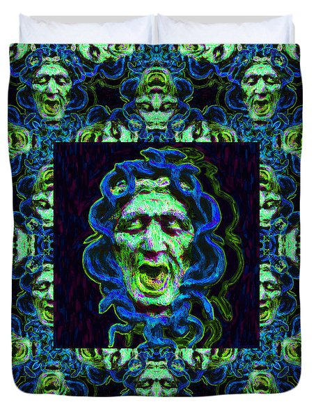 Medusa's Window 20130131p90 Duvet Cover by Wingsdomain Art and Photography