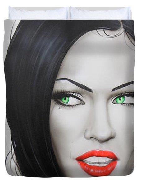 'Megan' Duvet Cover by Christian Chapman Art
