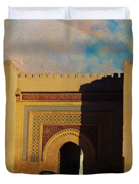 Meknes Duvet Cover by Catf