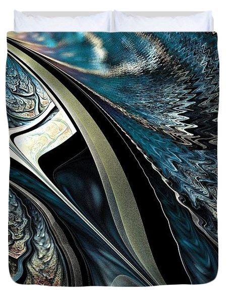 Melting Point Duvet Cover by Anastasiya Malakhova