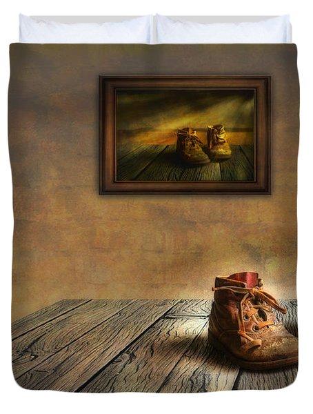 Mementos Exhibition Duvet Cover by Veikko Suikkanen