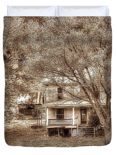 Memories Behind The Trees Duvet Cover by Dan Friend