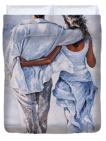 Memories Of Love Duvet Cover by Emerico Imre Toth