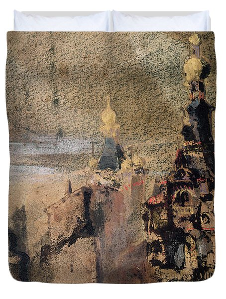Memory Of Spain Duvet Cover by Victor Hugo