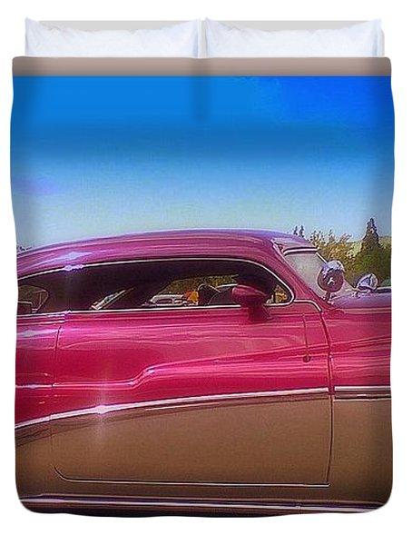 Mercury Rising Duvet Cover by Bobbee Rickard