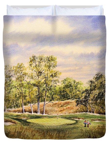 Merion Golf Club Duvet Cover by Bill Holkham