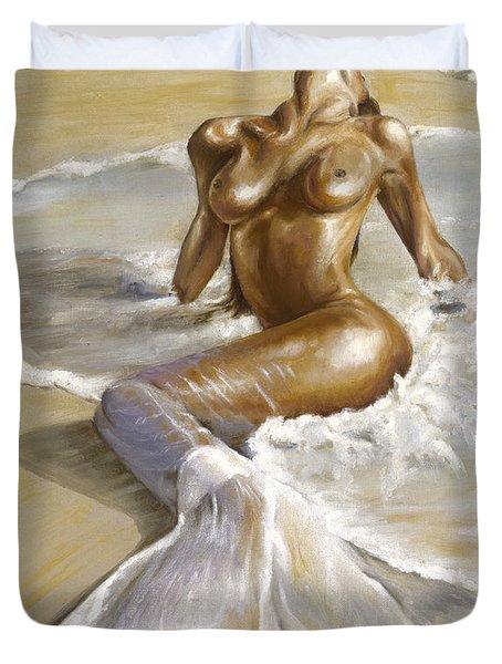 Mermaid Duvet Cover by Karina Llergo