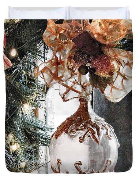 Merry Christmas Duvet Cover by Rory Sagner