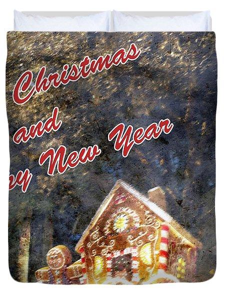 Merry Christmas Duvet Cover by Skip Nall