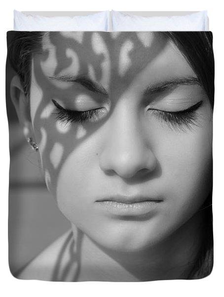 metamorphosis Duvet Cover by Laura  Fasulo