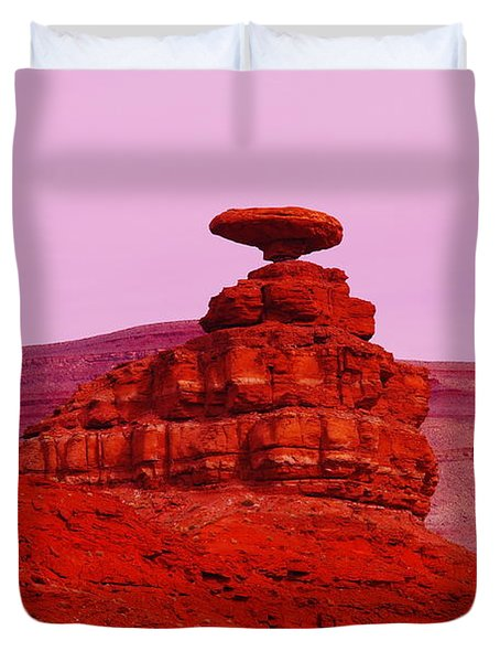 Mexican Hat  Duvet Cover by Jeff Swan