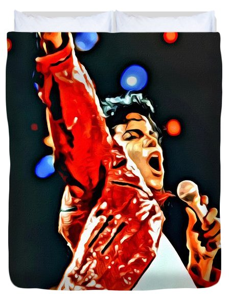 Michael Duvet Cover by Florian Rodarte