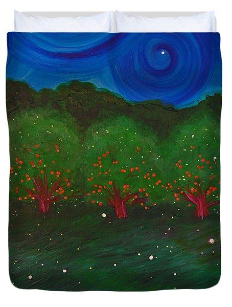 Midsummer Night By Jrr Duvet Cover by First Star Art