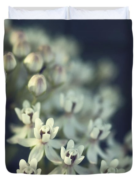 Milkweed  Duvet Cover by Saija  Lehtonen
