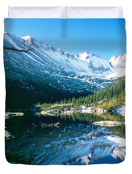 Mills Lake Duvet Cover by Eric Glaser