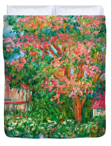 Mimosa View Duvet Cover by Kendall Kessler