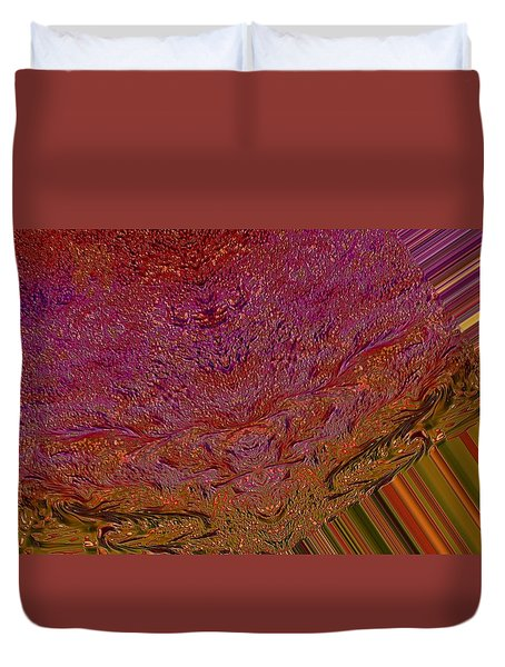 Mind Meld Duvet Cover by Jeff Swan