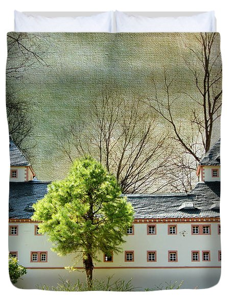 Miniatures Augustusburg Duvet Cover by Heike Hultsch