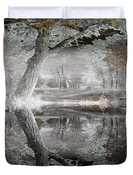 Misty Morn 1 Duvet Cover by Stuart Turnbull