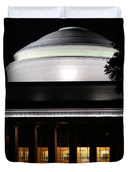 MIT Duvet Cover by Juergen Roth