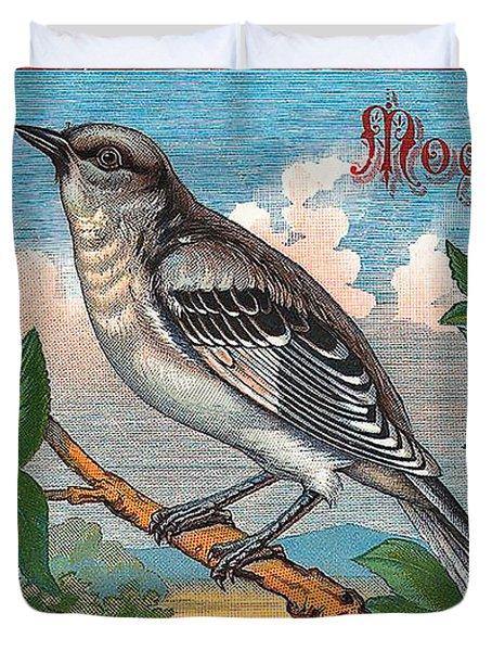 Mocking Bird Duvet Cover by Studio Artist