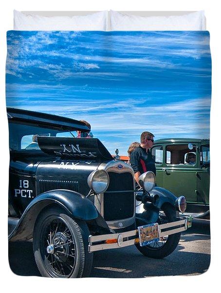 Model T Fords Duvet Cover by Steve Harrington
