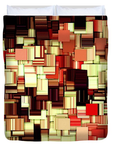Modern Abstract Art XVII Duvet Cover by Lourry Legarde