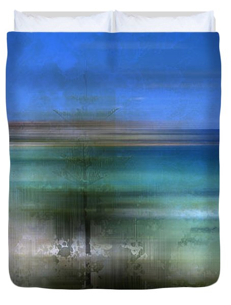 Modern-art Bondi Beach Duvet Cover by Melanie Viola