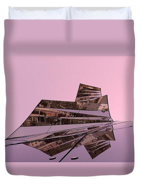 Modern Reflections ... Duvet Cover by Juergen Weiss