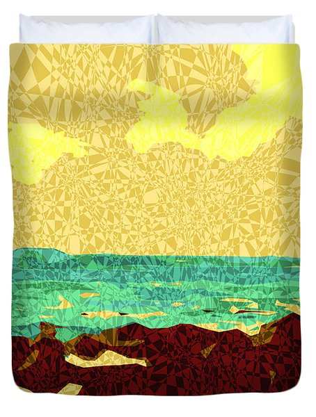Moku Kapa 9 Duvet Cover by Kenneth Grzesik