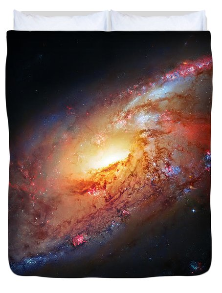 Molten Galaxy Duvet Cover by Jennifer Rondinelli Reilly - Fine Art Photography