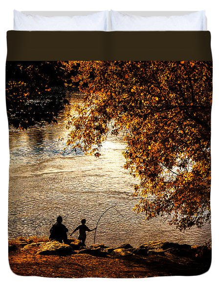 Moments To Remember Duvet Cover by Bob Orsillo
