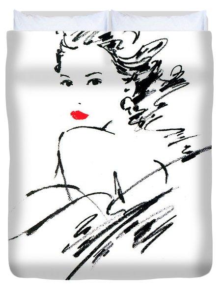 Monique Variant 1 Duvet Cover by Giannelli