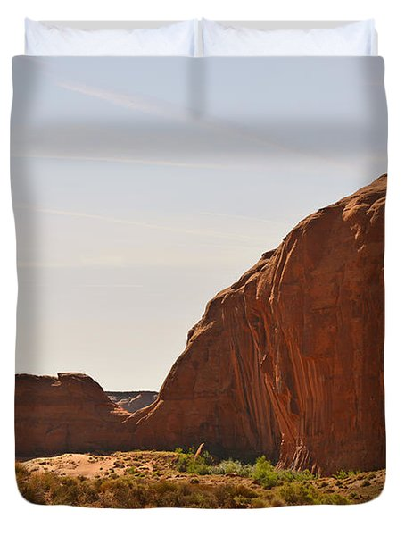 Monument Valley Sleeping Dragon Duvet Cover by Christine Till