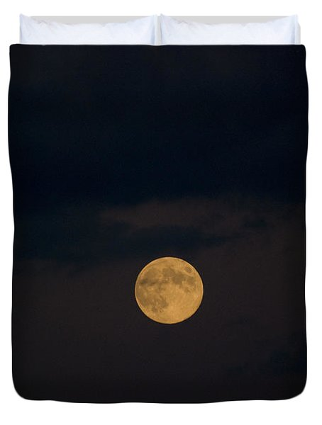 Moon Rising 07 Duvet Cover by Thomas Woolworth
