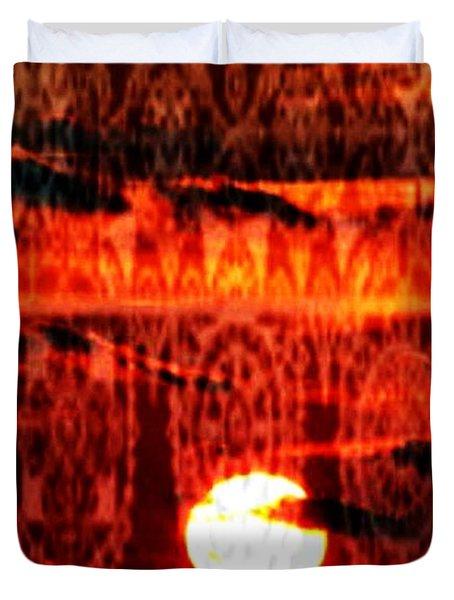 Moonlace Duvet Cover by PainterArtist FIN