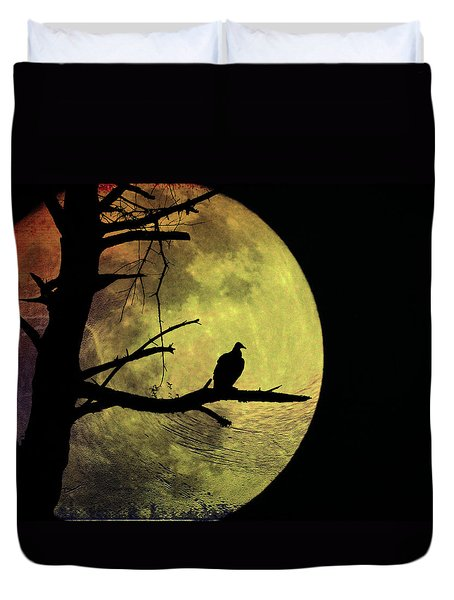 Moonlight Mile Duvet Cover by Bill Cannon