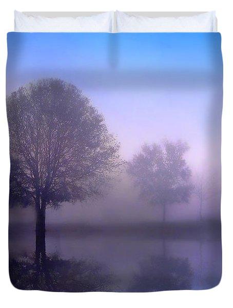 Moonlight Sonata Duvet Cover by Jessica Jenney