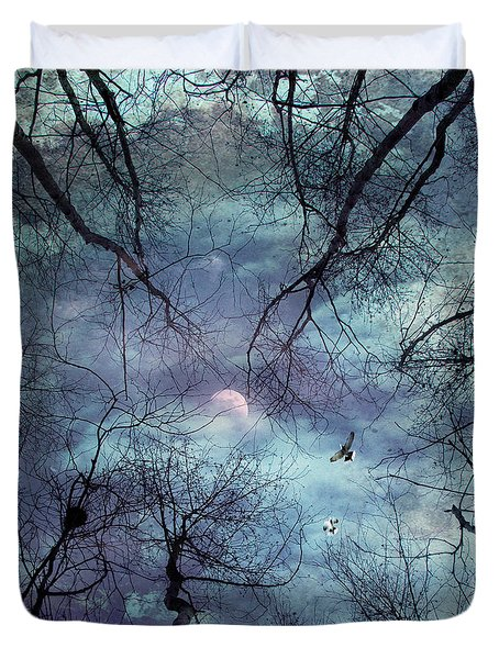Moonlight Duvet Cover by Stelios Kleanthous