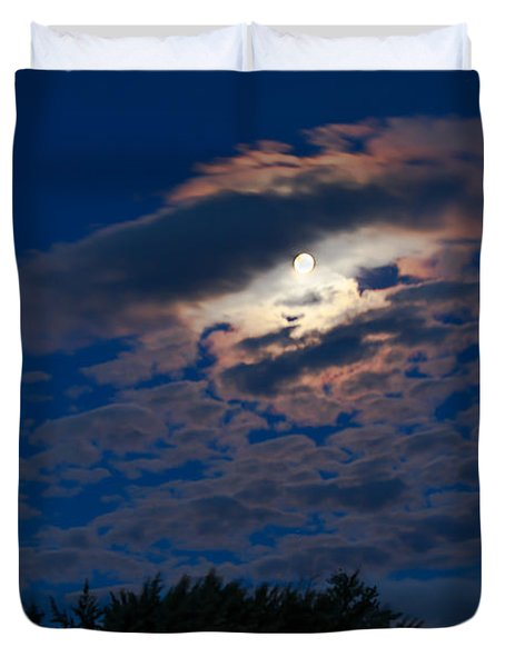 Moonscape Duvet Cover by Robert Bales