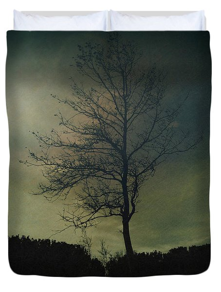 Moonspell Duvet Cover by Bedros Awak