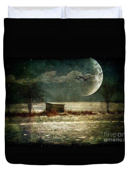Moonstruck Duvet Cover by Lois Bryan