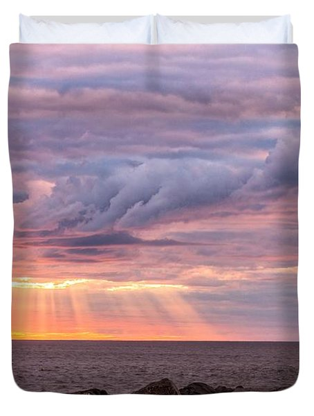 Morning Has Broken Duvet Cover by Mary Amerman