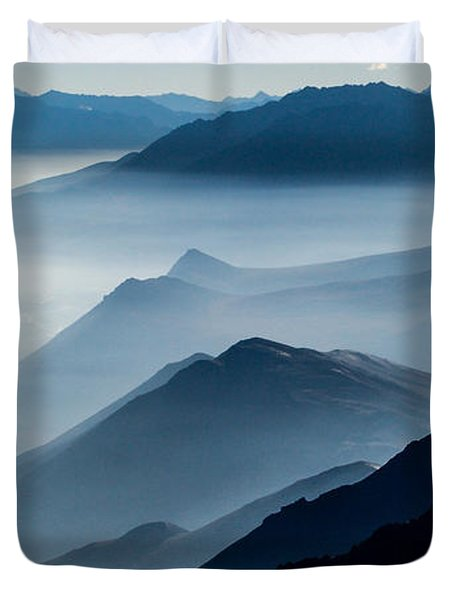 Morning Mist Duvet Cover by Chad Dutson